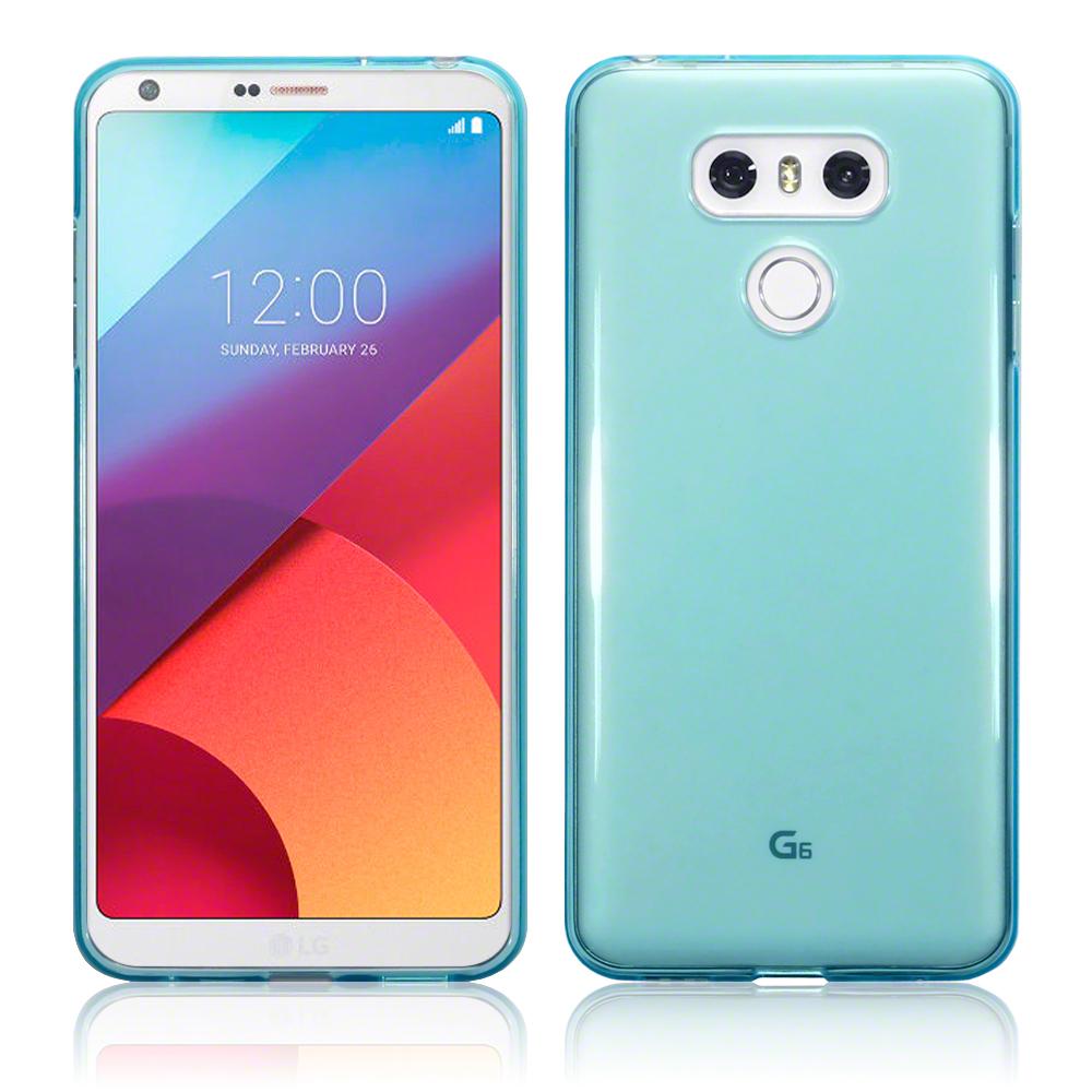 Terrapin Ημιδιάφανη Θήκη Σιλικόνης LG G6 - Blue (118-014-100)