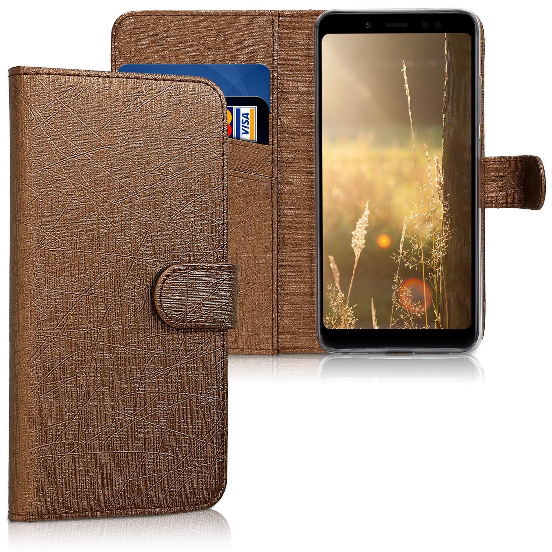 KW Θήκη - Πορτοφόλι Xiaomi Redmi Note 5 / Note 5 Pro - Bronze (45863.84)
