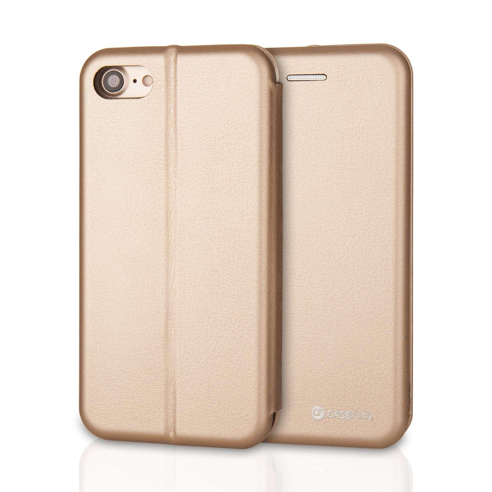 Caseflex Θήκη - Πορτοφόλι iPhone X/XS - Gold (AP-GA04-Z186)