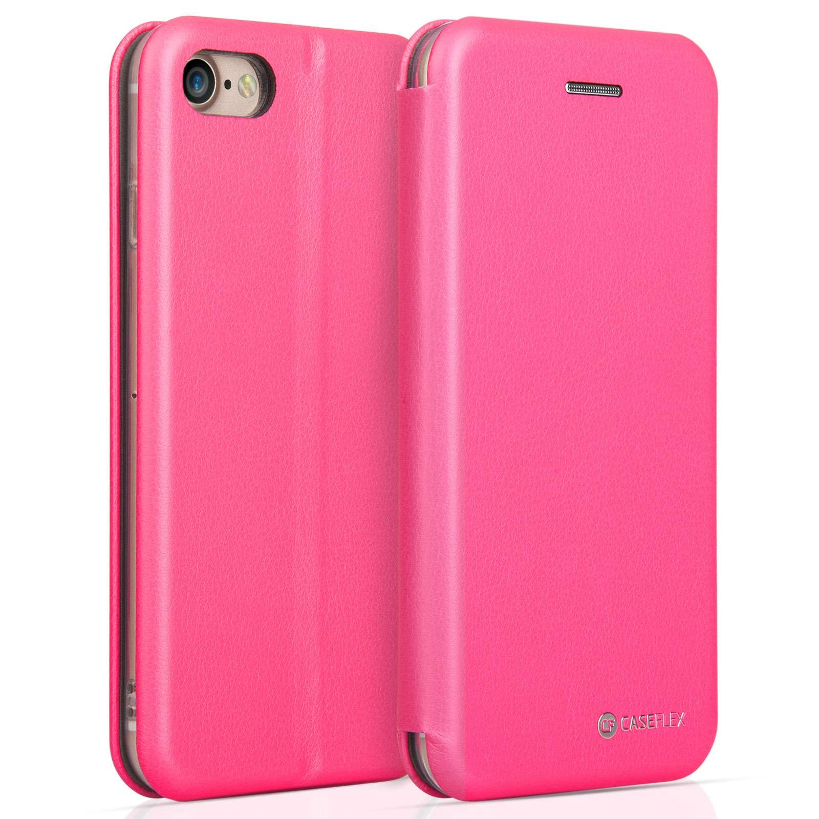 Caseflex Θήκη - Πορτοφόλι iPhone X/XS - Pink (AP-GA04-Z188)