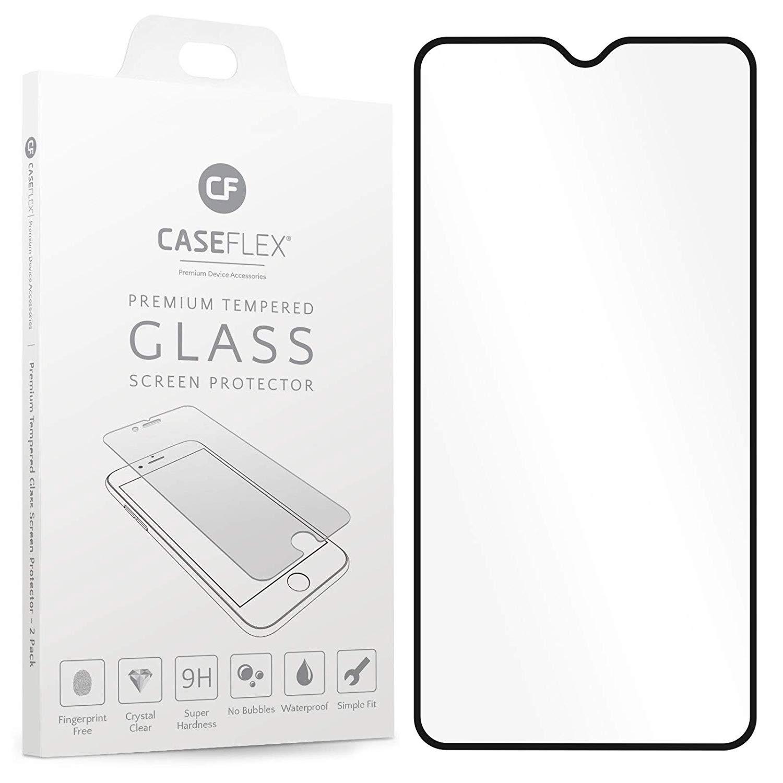 Caseflex Tempered Glass - Αντιχαρακτικό with Black Edge Γυαλί Οθόνης Oneplus 6T (GL000003ON)