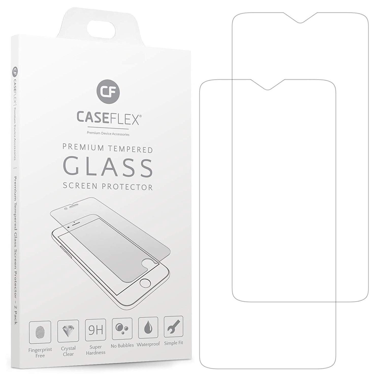 Caseflex Tempered Glass - Αντιχαρακτικό Γυαλί Οθόνης Oneplus 6T - 2 Τεμάχια (GL000004ON)