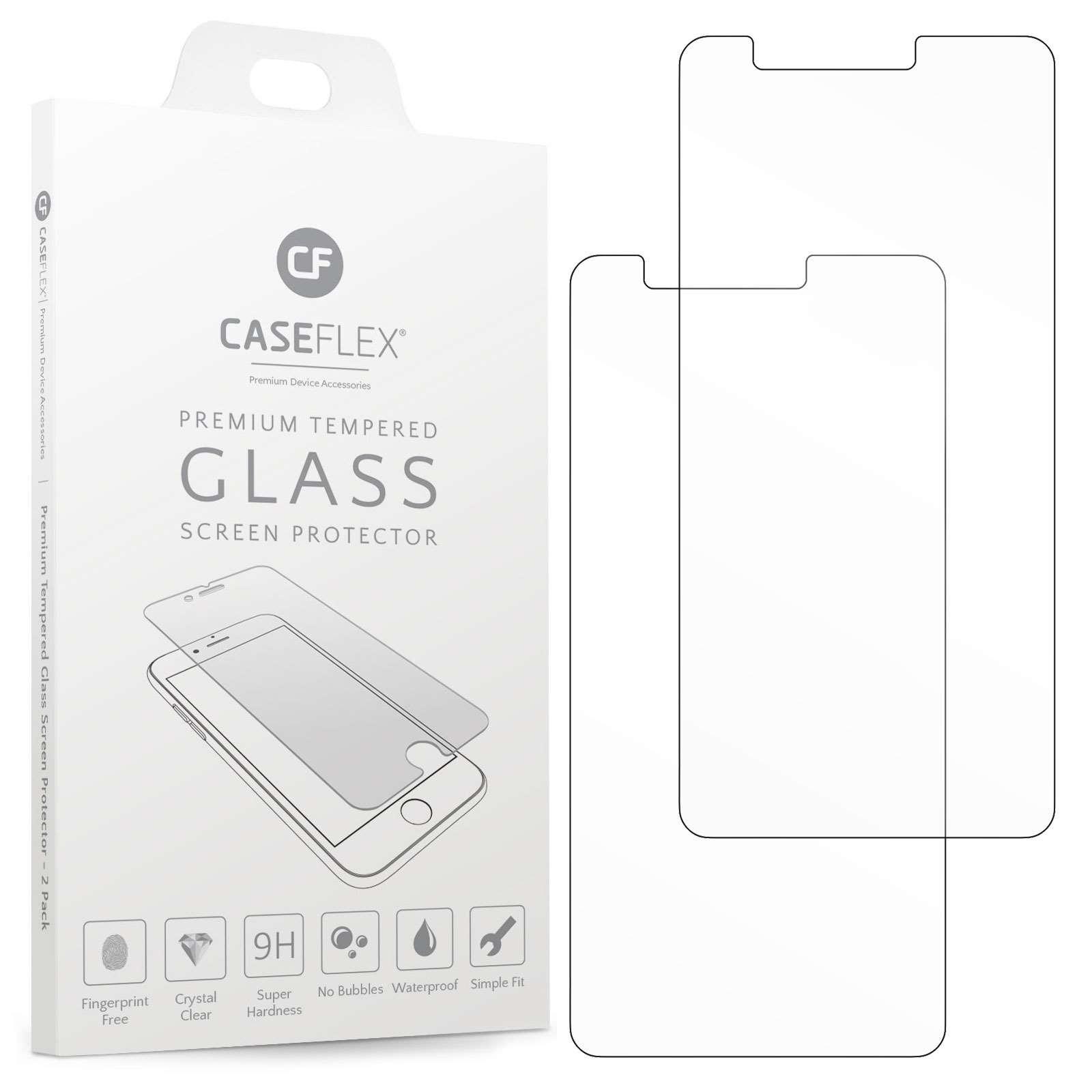 Caseflex Tempered Glass - Αντιχαρακτικό Γυαλί Οθόνης LG K9 / K8 2018 - 2 Τεμάχια (GL000003LG)