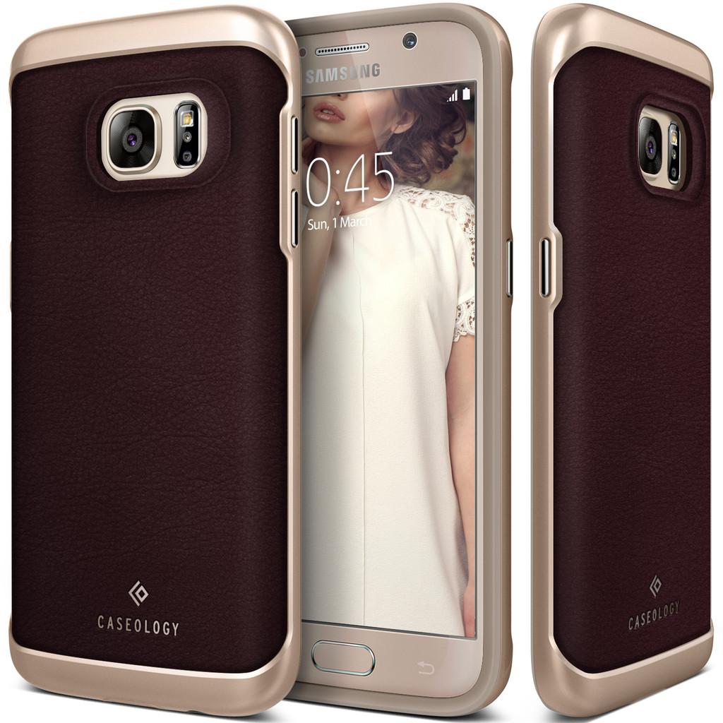 Caseology Θήκη Envoy Series Samsung Galaxy S7 - Brown Leather (CO-GS7-ENV-BR)