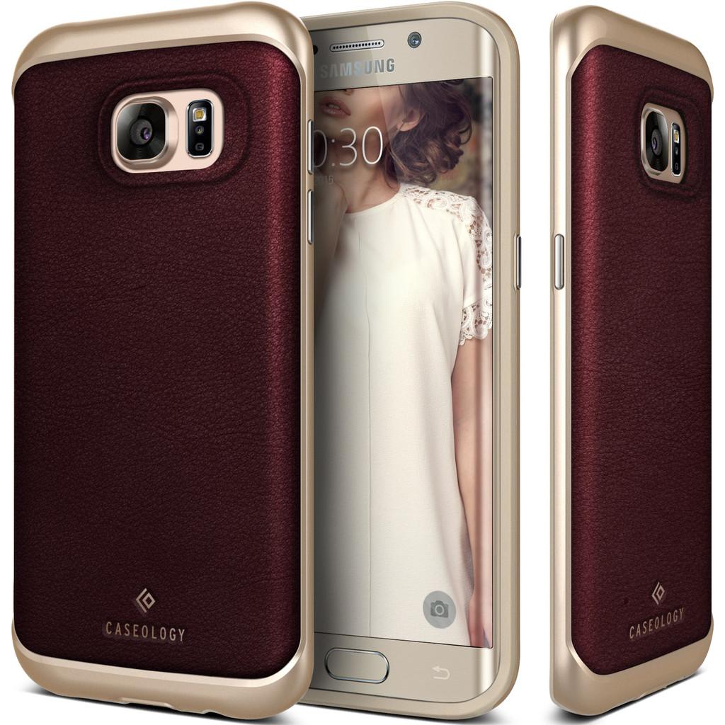 Caseology Θήκη Envoy Series Samsung Galaxy S7 Edge - Brown Leather (CO-G7E-ENV-BR)