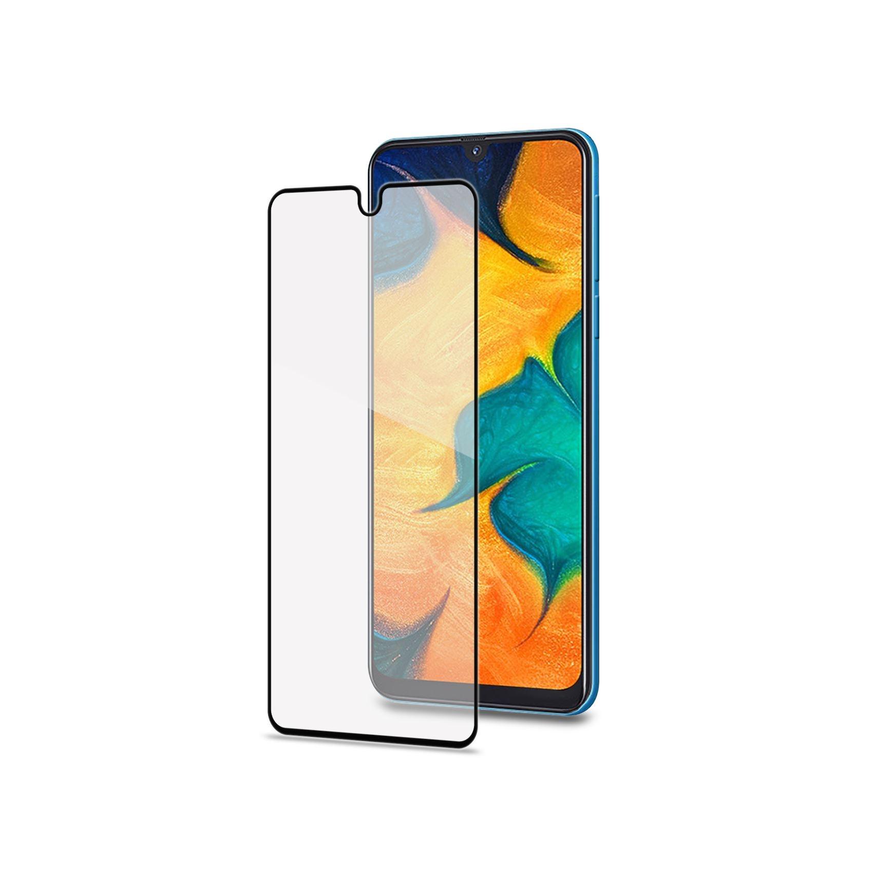 Celly Tempered Glass- Fullface Αντιχαρακτικό Γυαλί Οθόνης Samsung Galaxy A40 (FULLGLASS833BK)