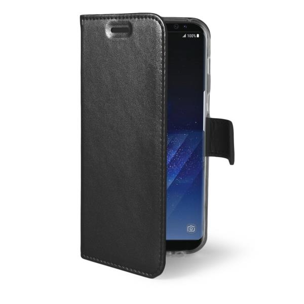 Celly Air Θήκη - Πορτοφόλι Samsung Galaxy S8 Plus - Black (AIR691BK)