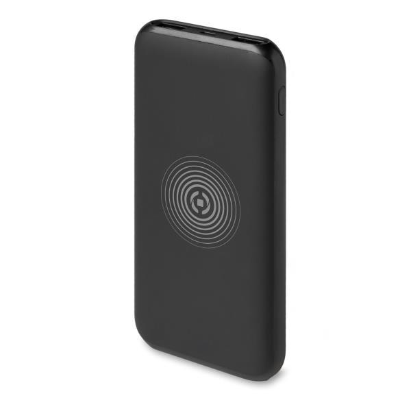 Celly Powerbank Ασύρματη Φορητή Μπαταρία Φόρτισης - 6000mAh - Black (PBWL6000BK)