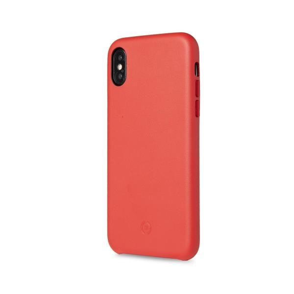 Celly Superior Θήκη iPhone X/XS - Red (SUPERIOR900RD)