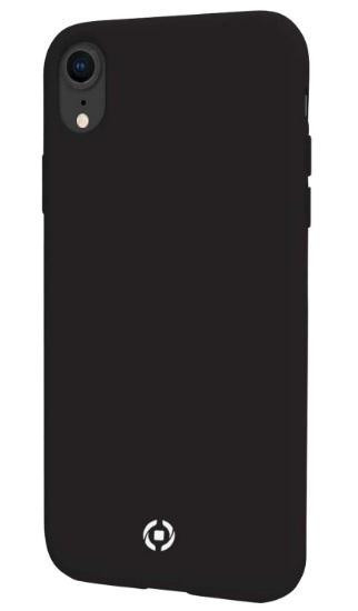 Celly Feeling Θήκη Σιλικόνης iPhone XR - Black (FEELING998BK)