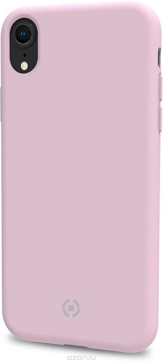 Celly Feeling Θήκη Σιλικόνης iPhone XR - Pink (FEELING998PL)