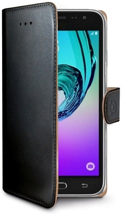 Celly Wally Θήκη - Πορτοφόλι Samsung Galaxy J7 2017 - Black (WALLY667)