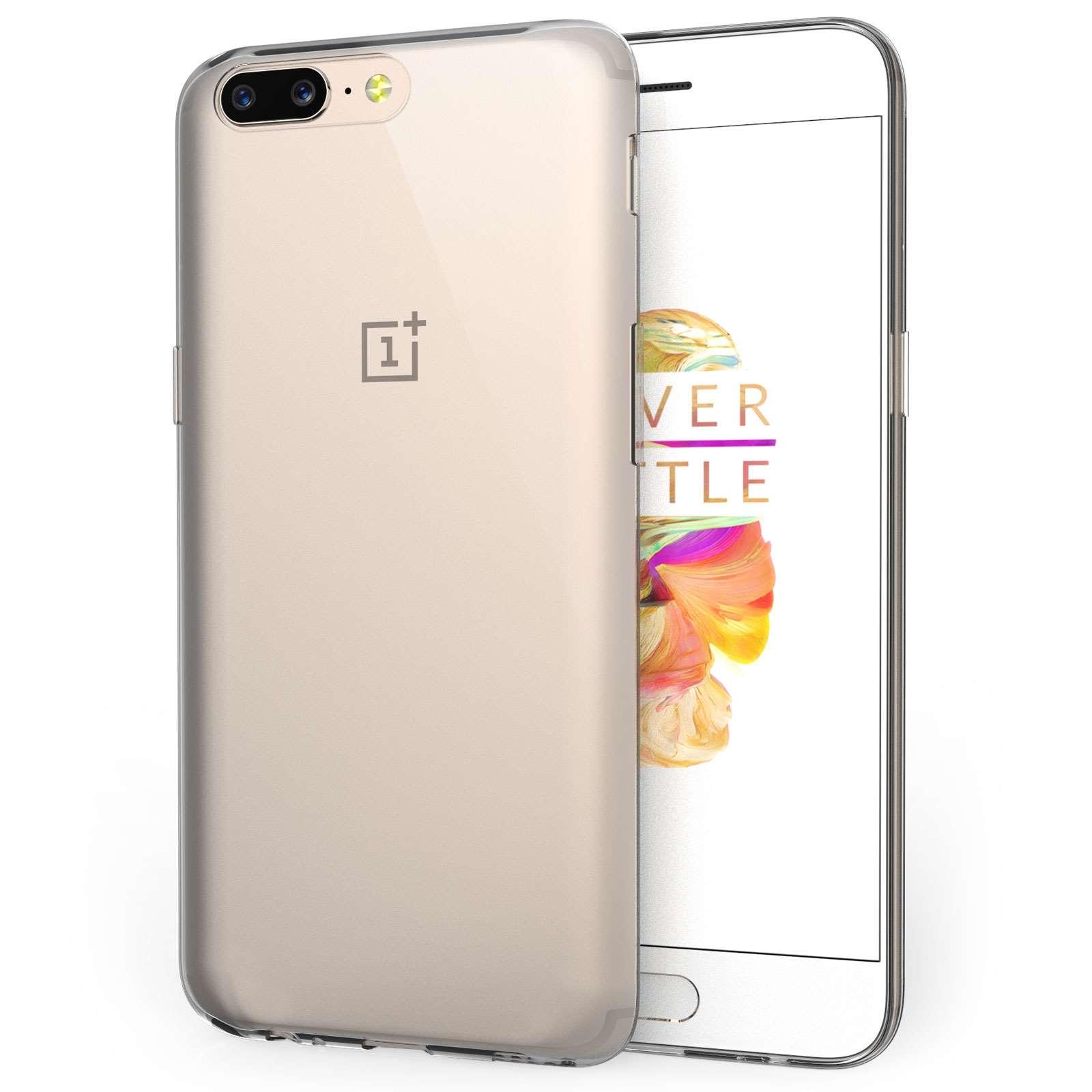 Centopi Θήκη Σιλικόνης OnePlus 5 - Clear (CEN-ONE-001)