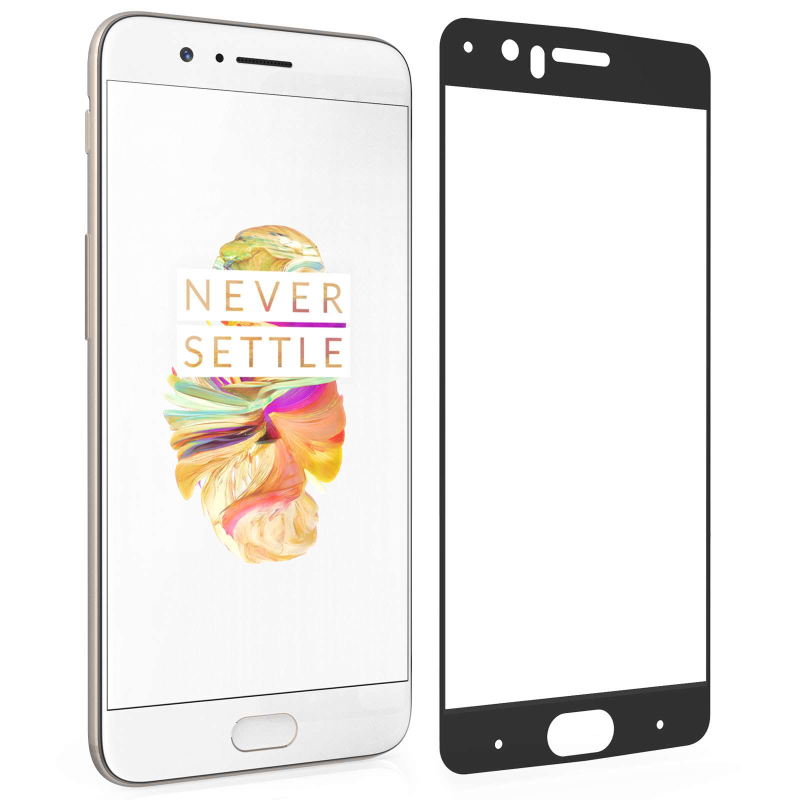 Centopi Tempered Glass - Αντιχαρακτικό with Black Edge Γυαλί Οθόνης OnePlus 5 (CEN-ONE-0009)