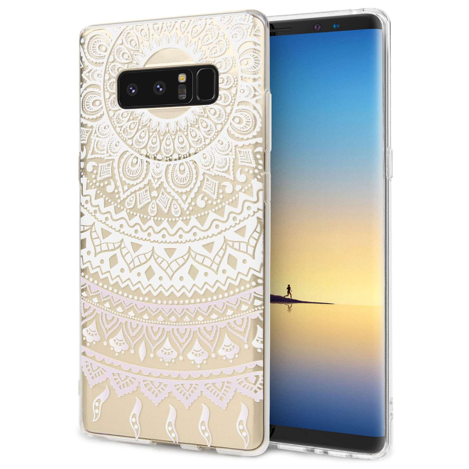Centopi Θήκη Σιλικόνης Samsung Galaxy Note 8 - Mandala Pattern (CEN-SAM-117)