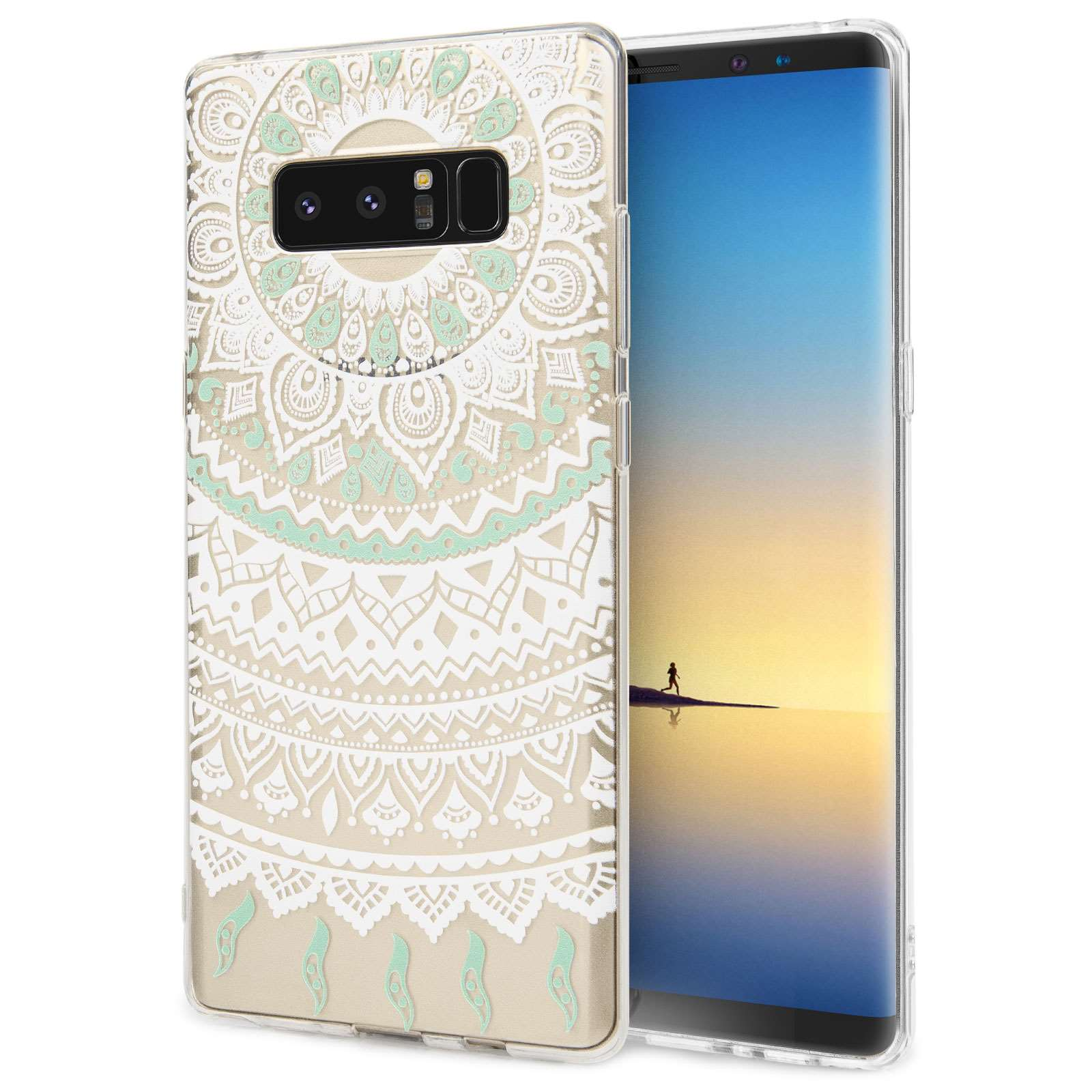 Centopi Θήκη Σιλικόνης Samsung Galaxy Note 8 - Mandala Pattern (CEN-SAM-118)