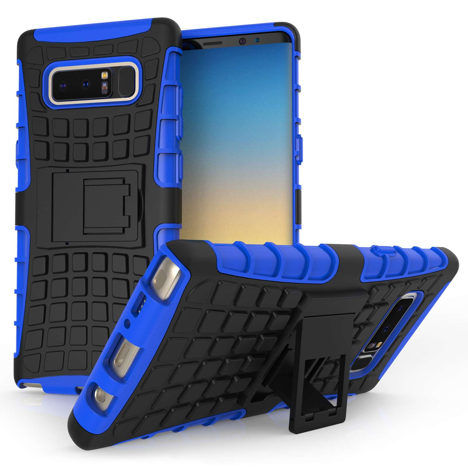 Centopi Θήκη Kickstand Combo Samsung Galaxy Note 8 - Blue (CEN-SAM-133)