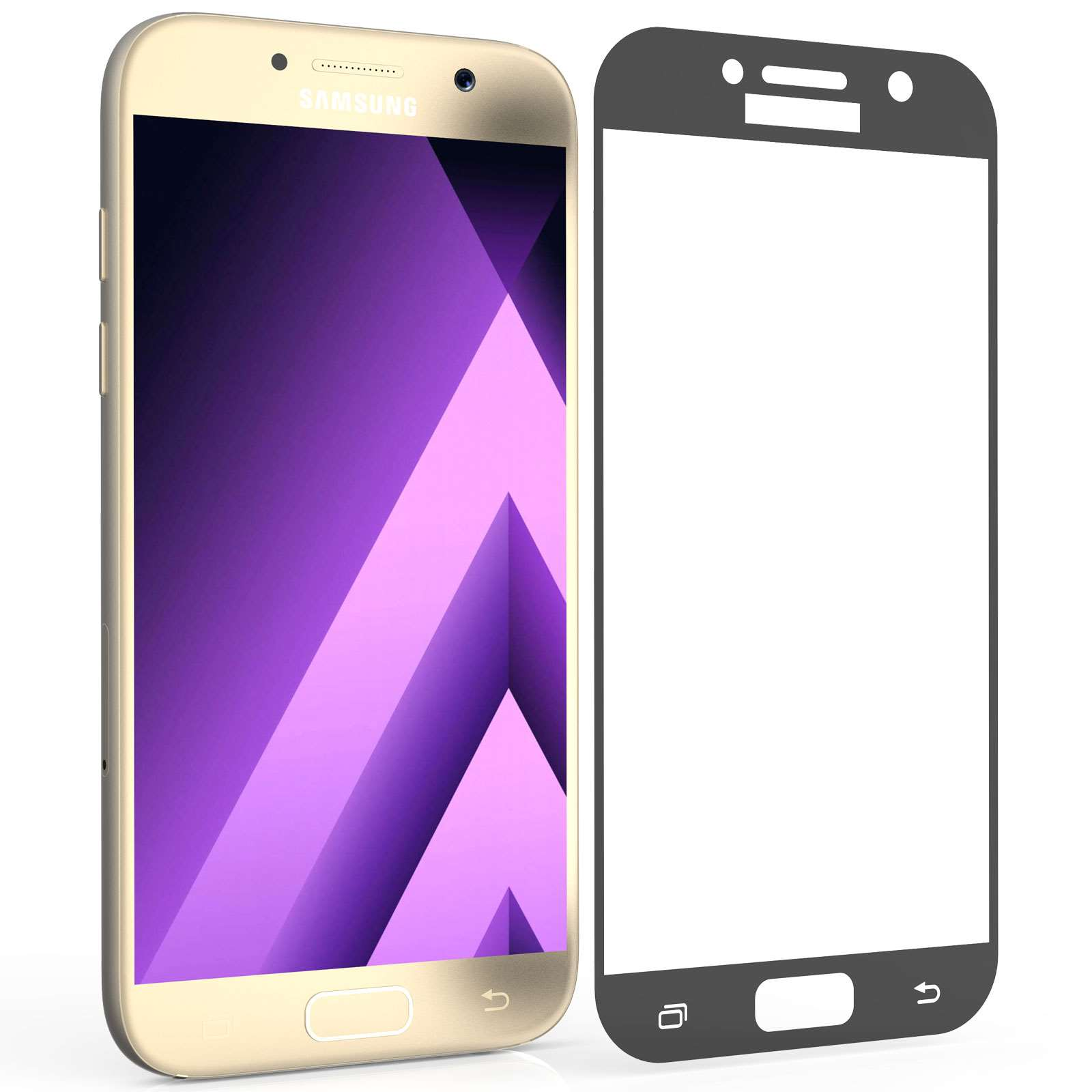 Centopi Tempered Glass - Αντιχαρακτικό with Black Edge Γυαλί Οθόνης Samsung Galaxy A5 (2017) (CEN-SAM-262)