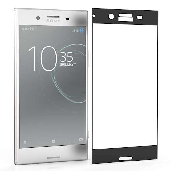 Centopi Tempered Glass - Αντιχαρακτικό with Black Edge Γυαλί Οθόνης Sony Xperia XZ Premium  (CEN-SON-067)