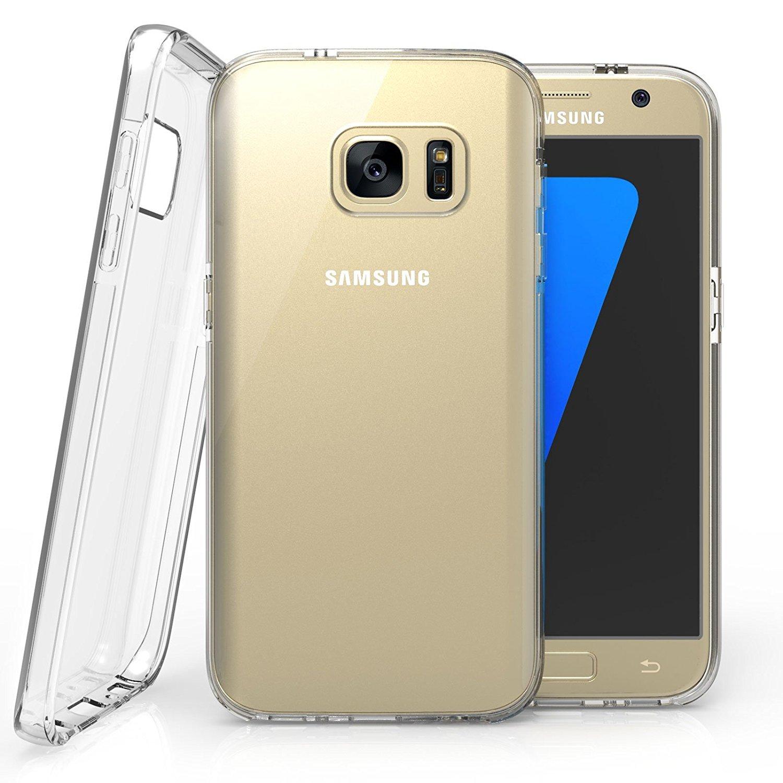 Caseflex Διάφανη Θήκη Σιλικόνης Samsung Galaxy S7 (SA-EA06-Z300)