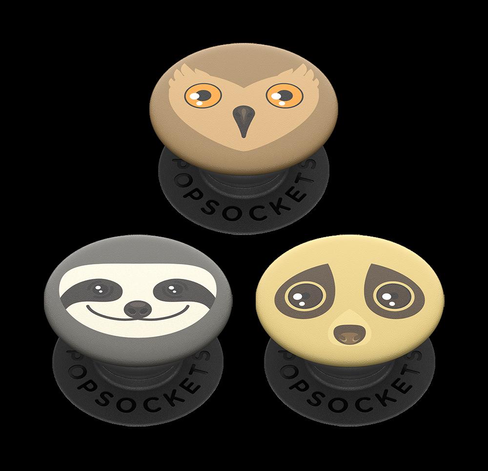 PopSocket Popminis Creature Comfort - Black - 3 Τεμάχια (800908)