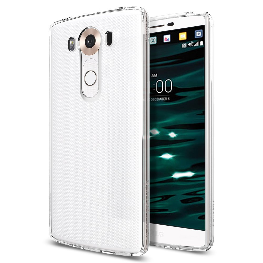 Spigen Θήκη Ultra Hybrid LG V10 - Crystal Clear (SGP11792) θήκες κινητών