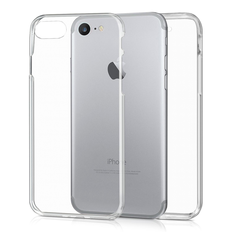 KW Διάφανη Θήκη Σιλικόνης Full Body για iPhone 7 / 8 - Transparent (39457.03)