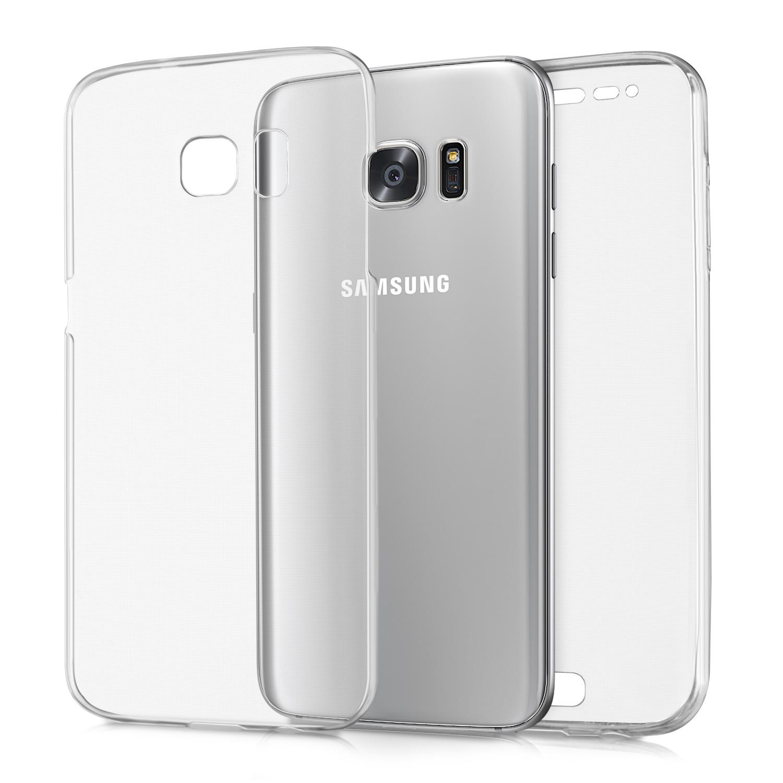 KW Διάφανη Θήκη Σιλικόνης Full Body για Samsung S7 Edge - Transparent (37822.03)