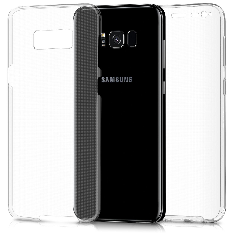 KW Διάφανη Θήκη Σιλικόνης Full Body για Samsung Galaxy J3 2017 - Transparent (41032.03)