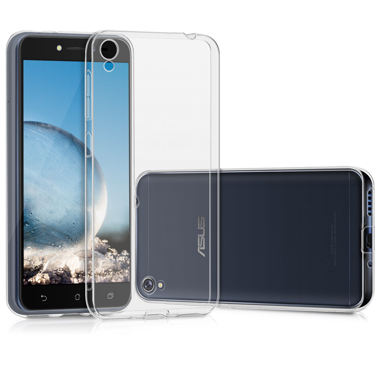 KW Διάφανη Θήκη Σιλικόνης Asus ZenFone Live - Clear (41950.03) θήκες κινητών