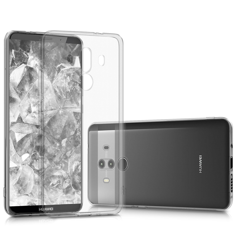 KW Θήκη Σιλικόνης Huawei Mate 10 Pro - Clear (43129.03) θήκες κινητών