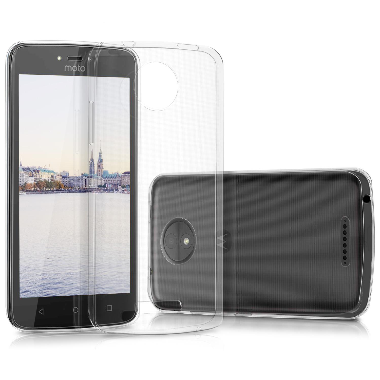 KW Διάφανη Θήκη Σιλικόνης Motorola Moto C - Transparent (42001.03)