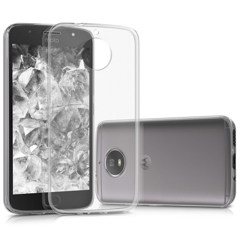 KW Διάφανη Θήκη Σιλικόνης Motorola Moto G5S - Clear (42808.03)