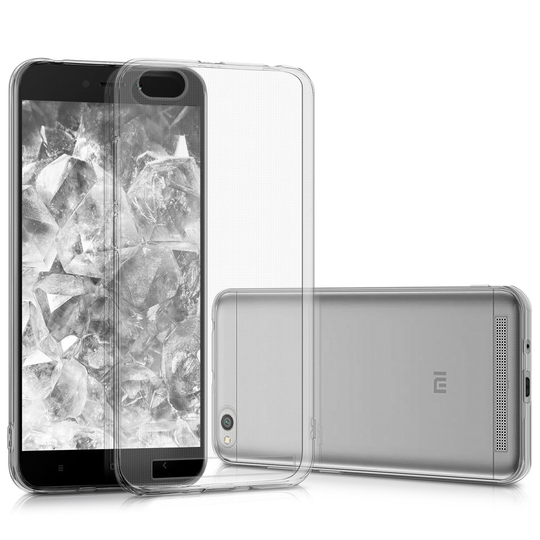 KW Διάφανη Θήκη Σιλικόνης Xiaomi Redmi 5A - Transparent (43841.03)