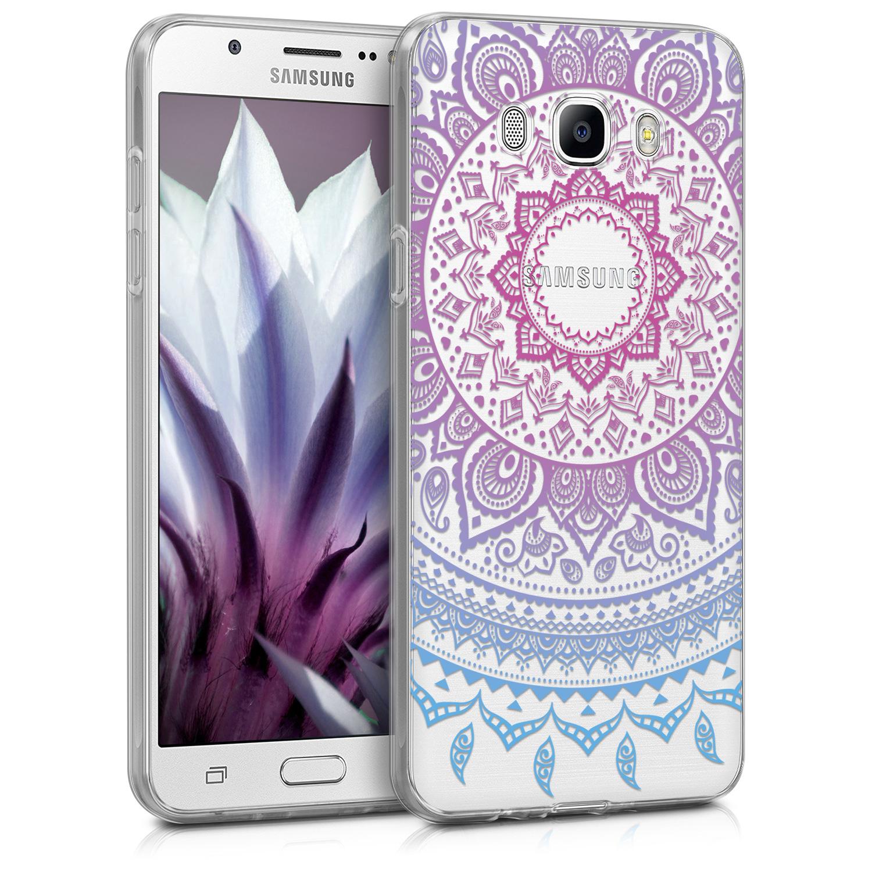 KW Θήκη Σιλικόνης Samsung Galaxy J7 2016  - Design Indian Sun (40616.02)
