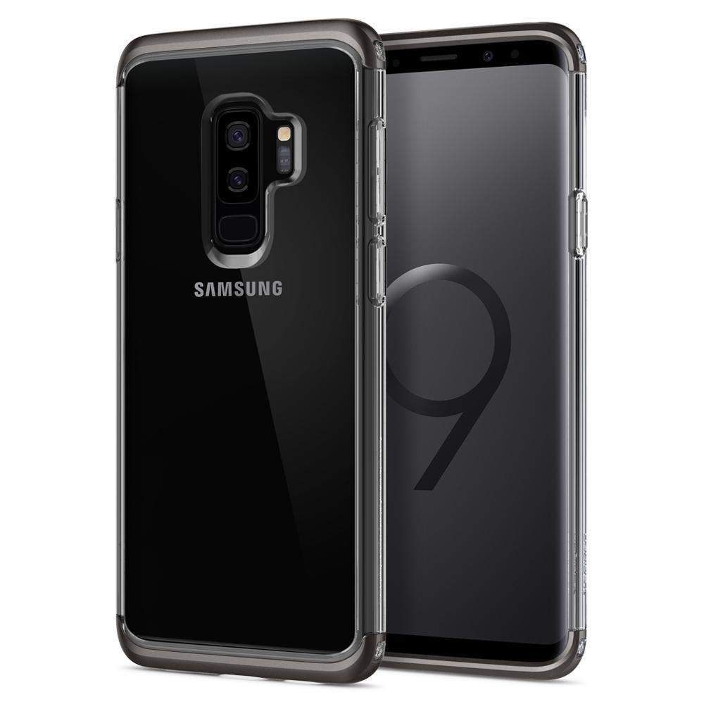 d9b372bf75 Spigen Διάφανη Ανθεκτική Θήκη Neo Hybrid NC Samsung Galaxy S9 Plus -  Gunmetal