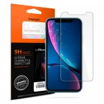 Spigen Tempered Glass GLAS.tR Slim iPhone XR