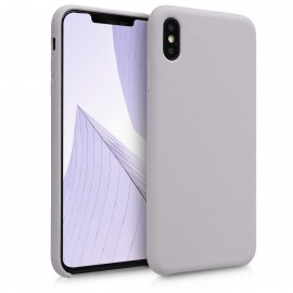 KW TPU Θήκη Σιλικόνης Apple iPhone XS Max - Soft Flexible Rubber Protective Cover - Light Taupe