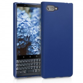 KW Θήκη Σιλικόνης Blackberry KEYtwo LE (Key2 LE) - Navy Blue