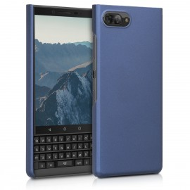KW Σκληρή Θήκη Blackberry KEYtwo LE (Key2 LE) - Metallic Blue