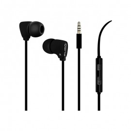 Puro Fine Earphones Handsfree Ακουστικά - Black