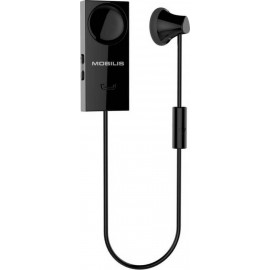 Mobilis Magnetic Bluetooth Handsfree S18 με Δόνηση - Black