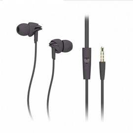 Rock Y1 Stereo Earphone - Ακουστικά Handsfree - Black