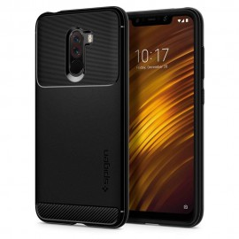 Spigen Θήκη Rugged Armor Xiaomi Pocophone F1 - Black