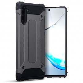 Terrapin Ανθεκτική Θήκη Double Layer Impact Samsung Galaxy Note 10 - Gunmetal