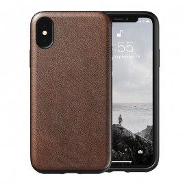 Nomad Horween Leather Δερμάτινη Θήκη iPhone XS Max - Rustic Brown