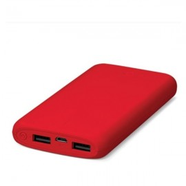 TTEC PowerSlim Dual Universal Mobile Fast Charger (2.1A) - 10000mAh - Red