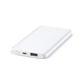 TTEC PowerSlim Universal Mobile Charger - 5000mAh - White