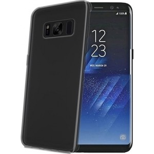 Celly Θήκη Samsung Galaxy S8 - Black / Matte Transparent
