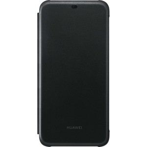 Huawei Official PU Leather Wallet Cover - Θήκη Flip Huawei Mate 20 Lite - Black